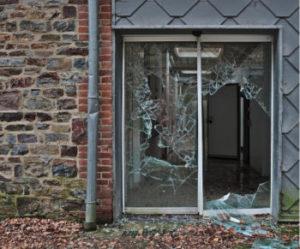 Glas vervangen in Arnhem van glazen deur